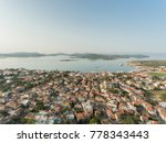 drone photo of ayvalik  a small ... | Shutterstock . vector #778343443