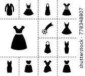 evening icons. set of 13...   Shutterstock .eps vector #778348807