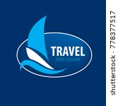 vector logo yacht | Shutterstock .eps vector #778377517