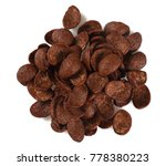 chocolate corn flakes | Shutterstock . vector #778380223
