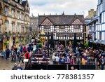 manchester  england   december...   Shutterstock . vector #778381357