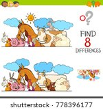 cartoon illustration of finding ...   Shutterstock .eps vector #778396177