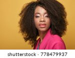 close up portrait of young... | Shutterstock . vector #778479937