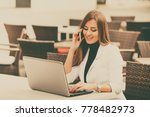 happy modern and attractive... | Shutterstock . vector #778482973