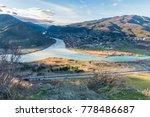 mtskheta town before sunset... | Shutterstock . vector #778486687