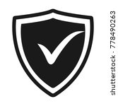 confirmed flat icon. sign...   Shutterstock .eps vector #778490263