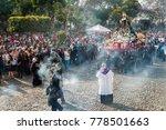 antigua  guatemala   march 26 ... | Shutterstock . vector #778501663