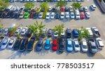 a lot of car parking in outdoor ... | Shutterstock . vector #778503517