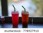 glass drink sweet