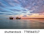 every dawn fishermen start a... | Shutterstock . vector #778566517