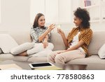 friends toasting with... | Shutterstock . vector #778580863