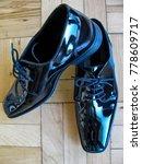 pair of classic black patent... | Shutterstock . vector #778609717
