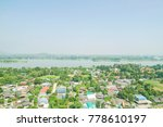 landscape view with the sky in... | Shutterstock . vector #778610197