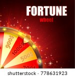 symbol of spinning fortune... | Shutterstock .eps vector #778631923