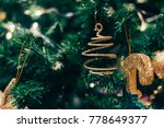 christmas tree decoration | Shutterstock . vector #778649377