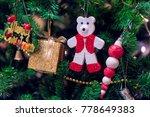 christmas tree decoration | Shutterstock . vector #778649383