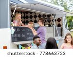 street sale and people concept  ... | Shutterstock . vector #778663723