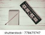 mental arithmetic background | Shutterstock . vector #778675747