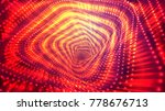 abstract vector background ... | Shutterstock .eps vector #778676713