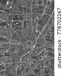 munich city plan  detailed... | Shutterstock .eps vector #778702267