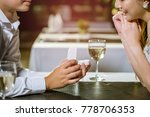 man open a ring box to give a... | Shutterstock . vector #778706353