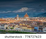 panorama of florence and saint... | Shutterstock . vector #778727623