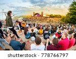 barcelona   may 29  people at...   Shutterstock . vector #778766797