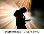 barcelona   jul 3  silhouette...   Shutterstock . vector #778766947