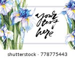 hand drawn artistic background... | Shutterstock .eps vector #778775443