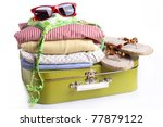 Summer Travel Suitcase