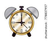 alarm clock with bells | Shutterstock .eps vector #778837957