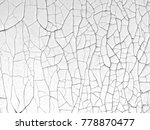 white wall background with... | Shutterstock . vector #778870477