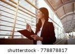 modern business women confident ... | Shutterstock . vector #778878817
