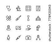 pharmaceutical icon set.... | Shutterstock .eps vector #778920343