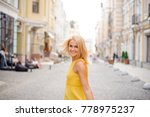 young and beautiful smiling... | Shutterstock . vector #778975237