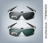 vector optical head mounted... | Shutterstock .eps vector #778980403