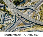 roadway system in kyiv. there... | Shutterstock . vector #778982557