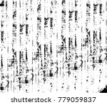 grunge black and white urban... | Shutterstock .eps vector #779059837