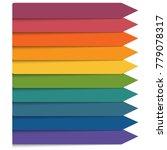 template 10 positions...   Shutterstock . vector #779078317