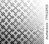 random tinted lines pattern... | Shutterstock .eps vector #779123923