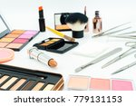 instruments for cosmetic... | Shutterstock . vector #779131153