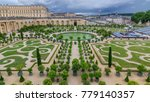 Famous Palace Versailles With...