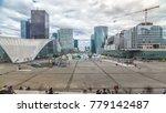 skyscrapers of defense modern... | Shutterstock . vector #779142487