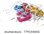 new year's toy. a photo of a... | Shutterstock . vector #779154043