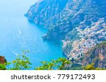 view of path of gods and... | Shutterstock . vector #779172493