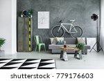 designer table in monochromatic ...   Shutterstock . vector #779176603