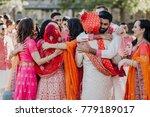 indian groomsmen and... | Shutterstock . vector #779189017
