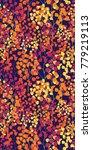 bright ditsy flower botanical... | Shutterstock .eps vector #779219113