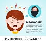 vector flat women with a... | Shutterstock .eps vector #779222647