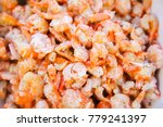 close up of dry shrimp for... | Shutterstock . vector #779241397